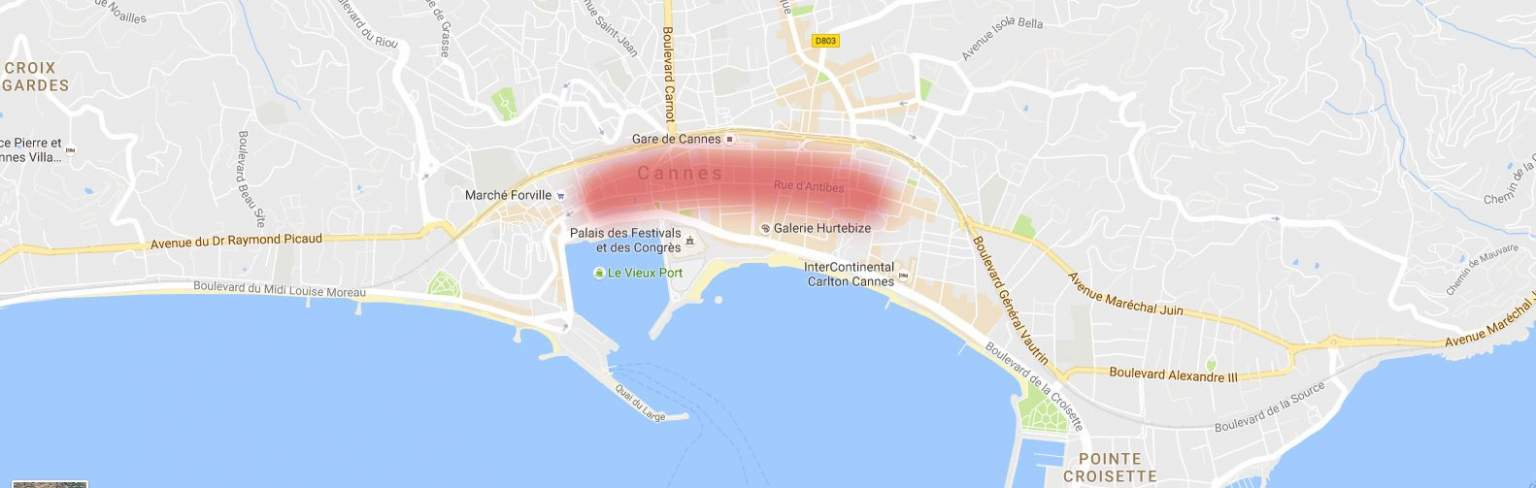 Rue d'Antibes location